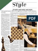 jewish chronicle layout - chess