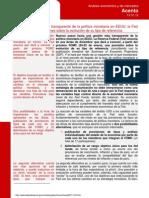 AFI política monetaria en EEUU
