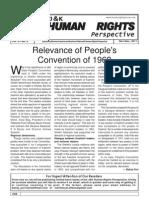J&K Human Rights Perspective, Nov-Dec 2011