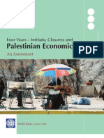 Palestinian Economic Crisis, World Bank