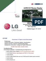 Lg 42pj350 Training Manual [ET]