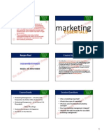 Marketing Introduction and Scope