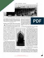 Making the hugest ship the safest, article, 15 jun 1912