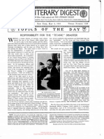 Responsibility for the Titanic disaster, article, 4 may 1912