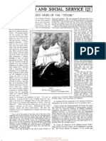 Religious views of Titanic, article, 4 may 1912