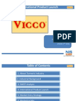 Presentation on Vicco Launch in Africa