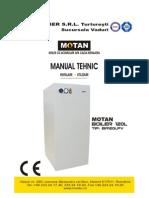 Manual Boiler 120L