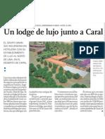 Lodge de Lujo en Centro Arqueológico Caral