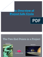 Life Cycle of a Project97-03 03 May Final Vv