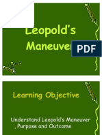 Leopold's Maneuver 2