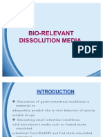 Bio-Relevant Dissolution Media