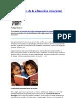 Aplicaciones de la educación emocional. Dr Rafael Bizquerra
