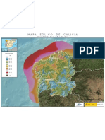 Mapa Eólico de Galicia