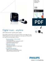 Philps iPod