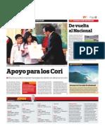 La Barra Cori en DT de El Comercio