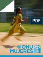 INFORME ONU MUJERES 2010 2011 Sp