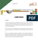Bases Académicas del III CIEH (portugués)