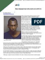 Immigrant Felon Freed by Obama Deportation Halt -- Went on to Murder Three...