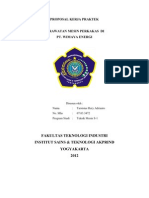 Proposal Kerja Praktek Yg d Ajukan