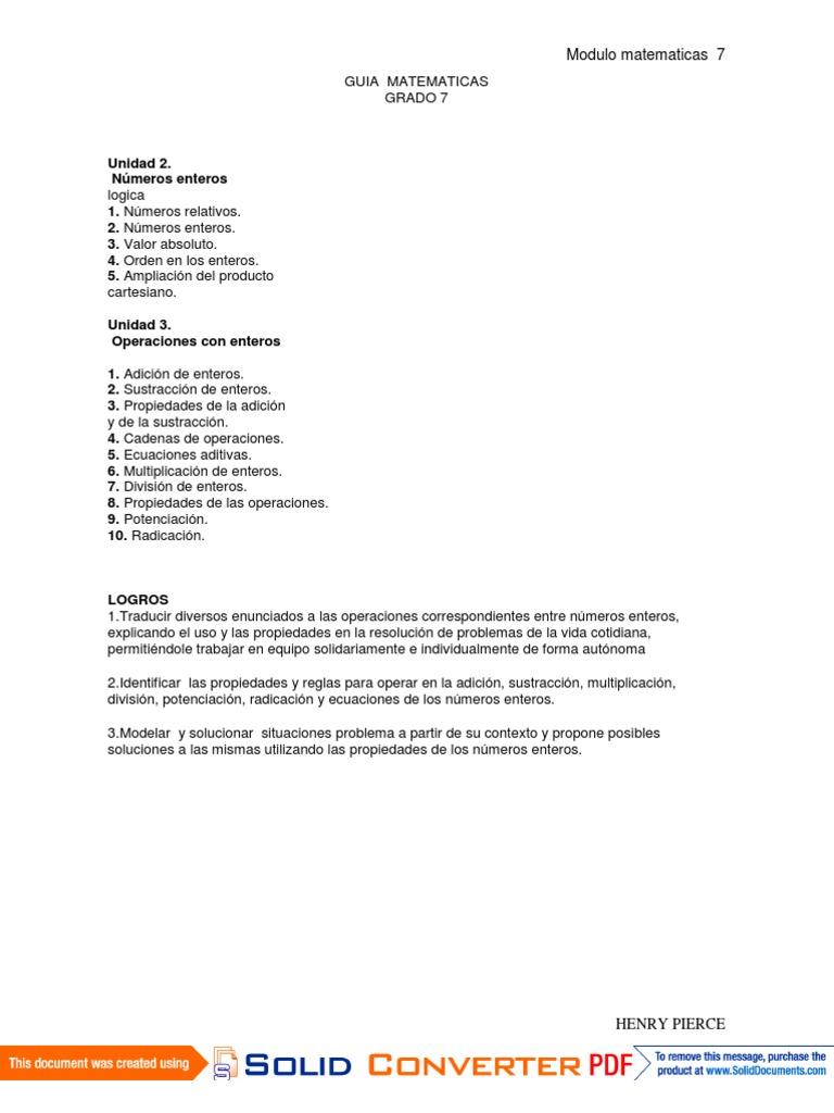 Lujoso Multiplicación Y División Hoja Enteros Imagen - hoja de ...