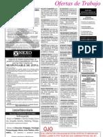 Periodico El Dia - 22 Ene 12 - Ofertas de Empleo