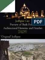 Jodhpur City Architecture