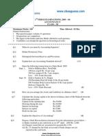 Accounts Sample Paper