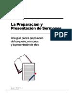 La preparación y presentación de sermones -Mark Reeves