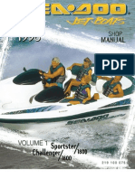 1996 SeaDoo Service Manual | Carburetor | Tap (Valve)