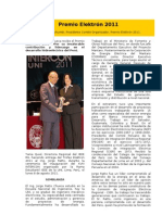 Premio Elektrón 2011