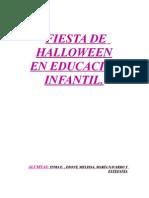 """Proyecto Educación Infantil """"Fiesta de Halloween"""""""