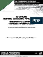 Aquabot Turbo T2 Manual