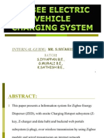 Zigbee Electric Vehicle Charging System