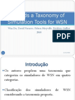 Towards a Taxonomy of Simulation Tools for WSN
