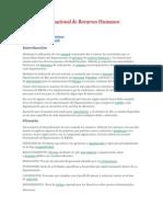 Manual Organizacional de Recursos Humanos