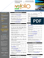 NewsFolio -Jan 2012 -New year -New Events
