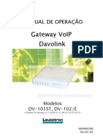 Manual Operacao Gateway Dv101st 102