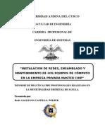 Informe de Practicassssss Finallll
