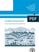 Marine protected areas and Fisheries