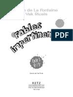 Fables Impertinentes Yak Rivais La Fontaine