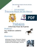 Informe Especial de La Fuente