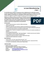 Description Des Ateliers_Lean-Manufacturing