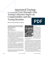 Annotated Turing Review