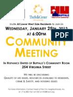 Jan2012 LWS Community Meeting