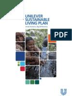 Unilever Sustainable LivingPlan