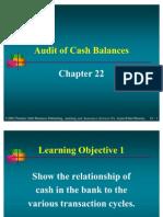 Arens22_Audit of Cash Balances