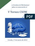 Bases VTorneo CSOW