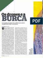 os drones e a burca
