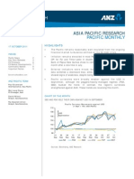 ANZ Pacific Research - Pacific Monthly - 17 Oct 2011