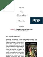 Cardamom Mountains Nepenthes Description